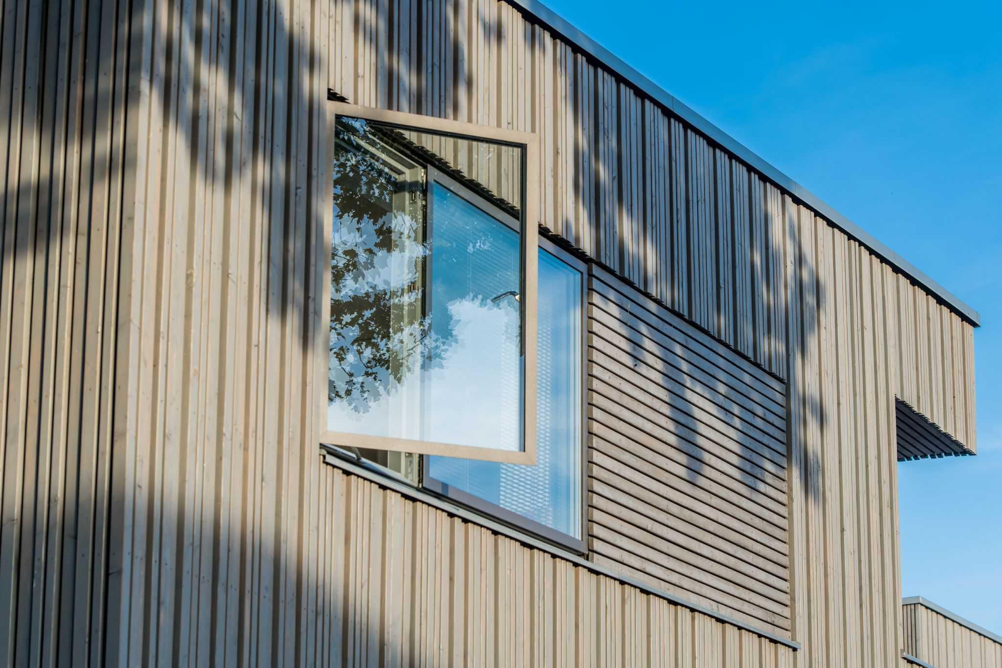 Moderne Designfenster Velfac 2