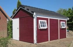 Schwedenschuppen Schuppen rot FREESE Holz