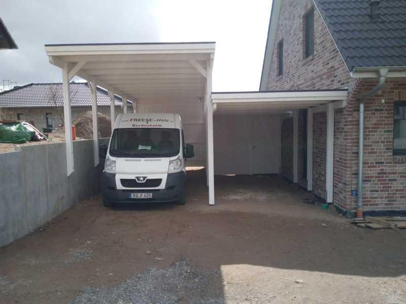 Carport Wohnmobil Wohnwagen extra hoch