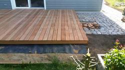 Terrasse Holz Aufbau