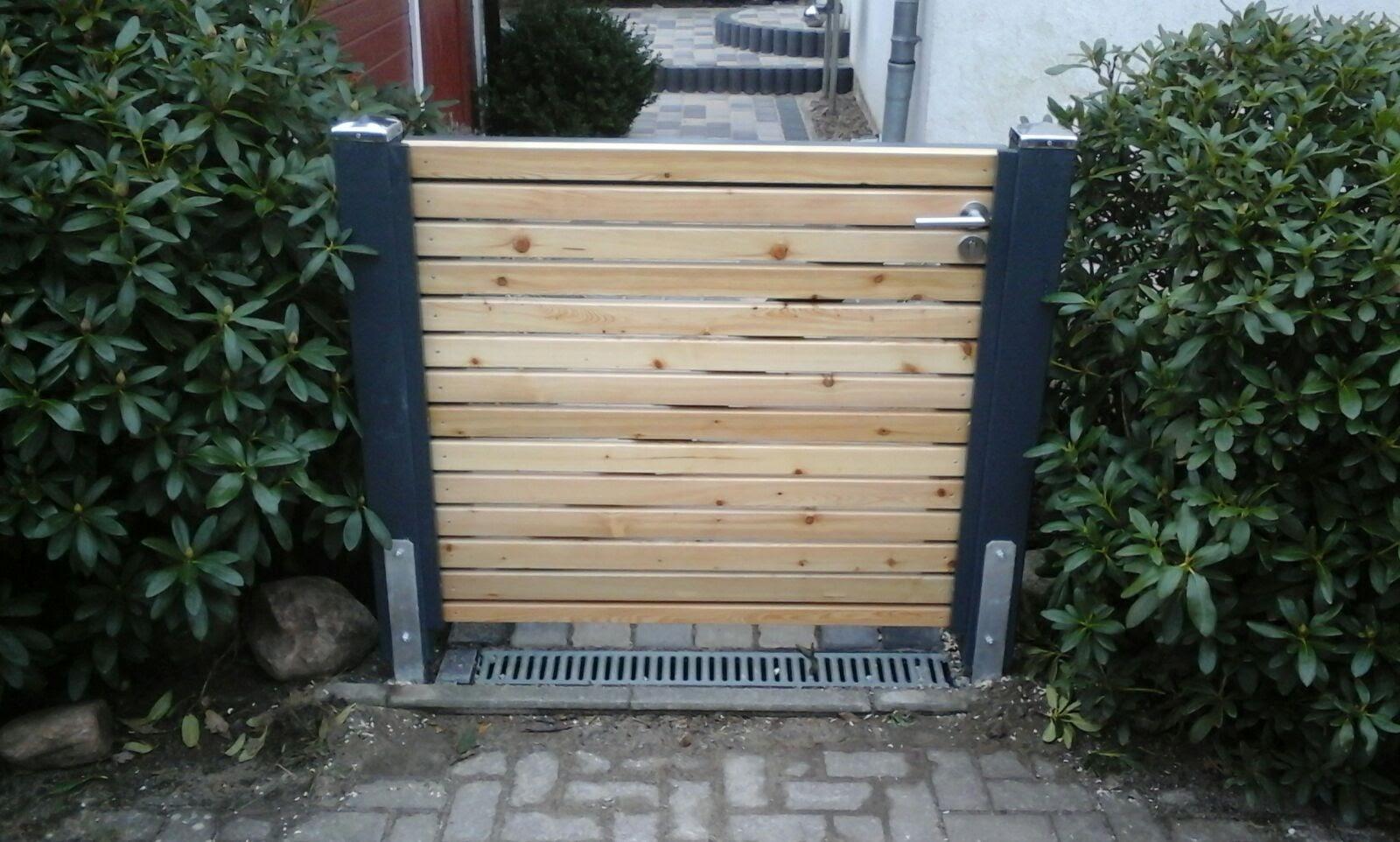Gartenpforte Rhombusprofil