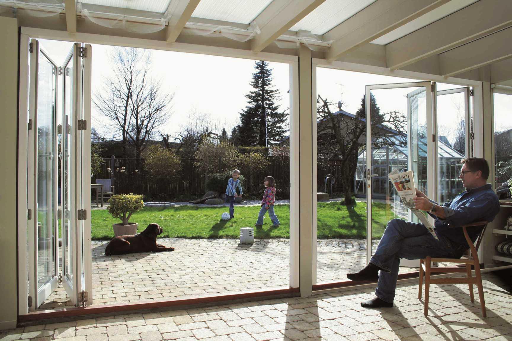 Lacuna_Faltschiebetür_Holz_Wintergarten