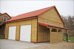 Doppelgarage KDI Satteldach groß