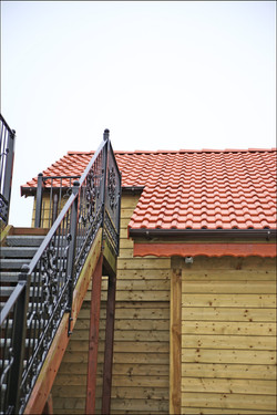 Fassade Holz Montagebetrieb