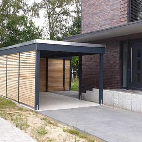 Holzcarport modern Quickborn