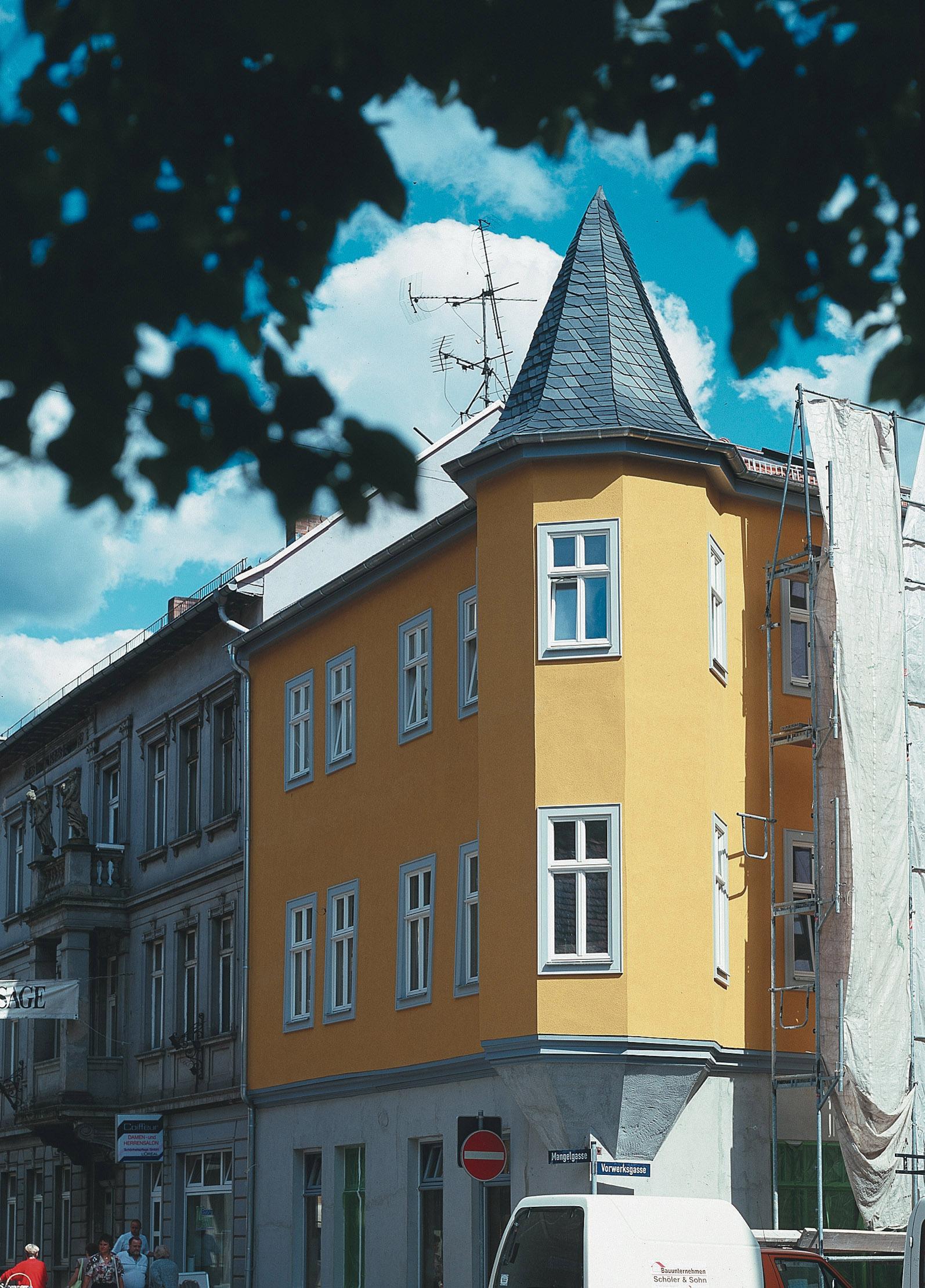 Klassische Fenster Turm