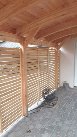 Carport Dach Bogendach FREESE Holz