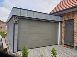 Garage Holz modern anthrazit FREESE Holz