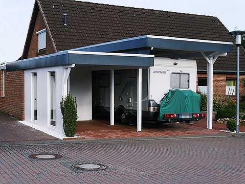 Wohnmobil-Carport, Carport für Wohnwagen, Carport für Kutsche