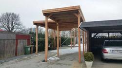 Carport Sonderhöhe für Wohnmobil Wohnwagen FREESE Holz