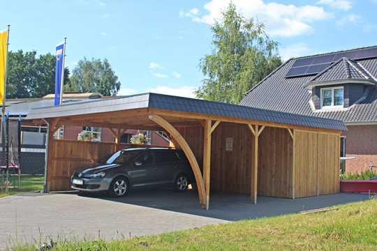 Doppelcarport Holz Bauanleitung