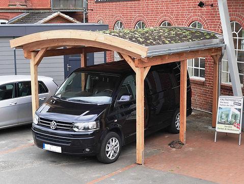 Carport mit Bogendach Runddach-Carport maßgefertigt FREESE Holz