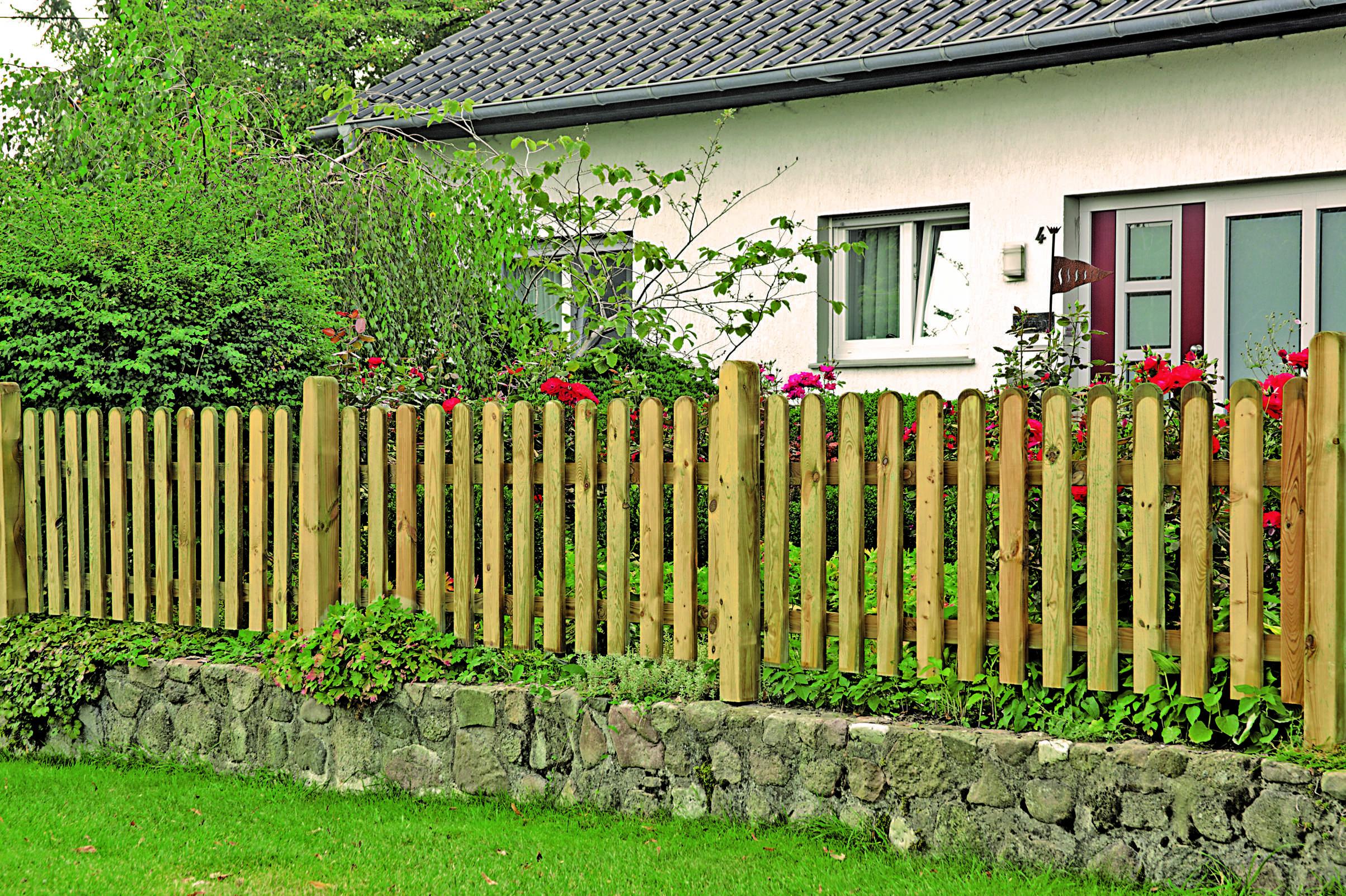 Gartenzaun Heiko Vorgartenzaun Ambiente.