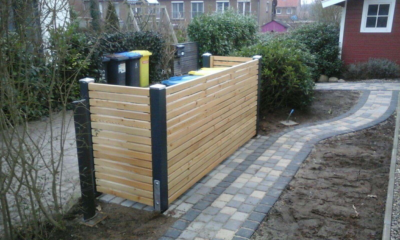 Mülltonnenbox Rhombusprofil