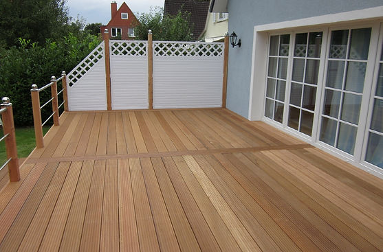 Terrasse Bangkirai FREESE Holz