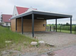 Carport Bausatz zum Selbstaufbau von FREESE Holz
