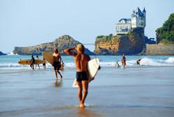 Côte des Basques à Biarritz