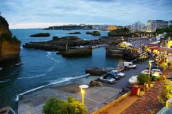 Le Port Vieux à Biarritz