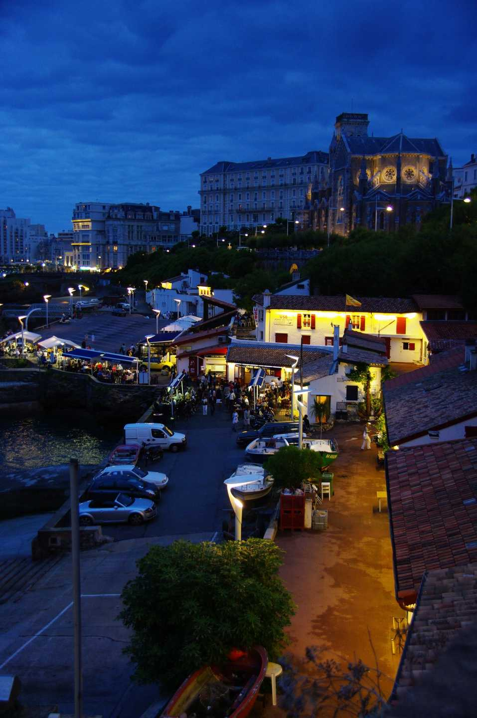 Le Port Vieux, by night