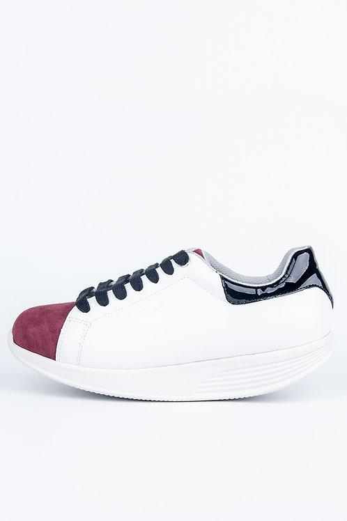PEN WALKING 3-Wine/ White sneaker