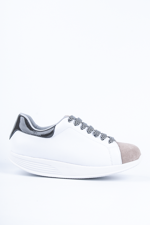 PEN WALKING 3-WHT/GRY PT