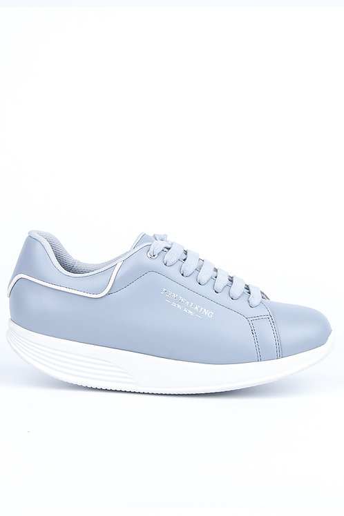 PEN WALKING 3- Baby blue leather sneaker