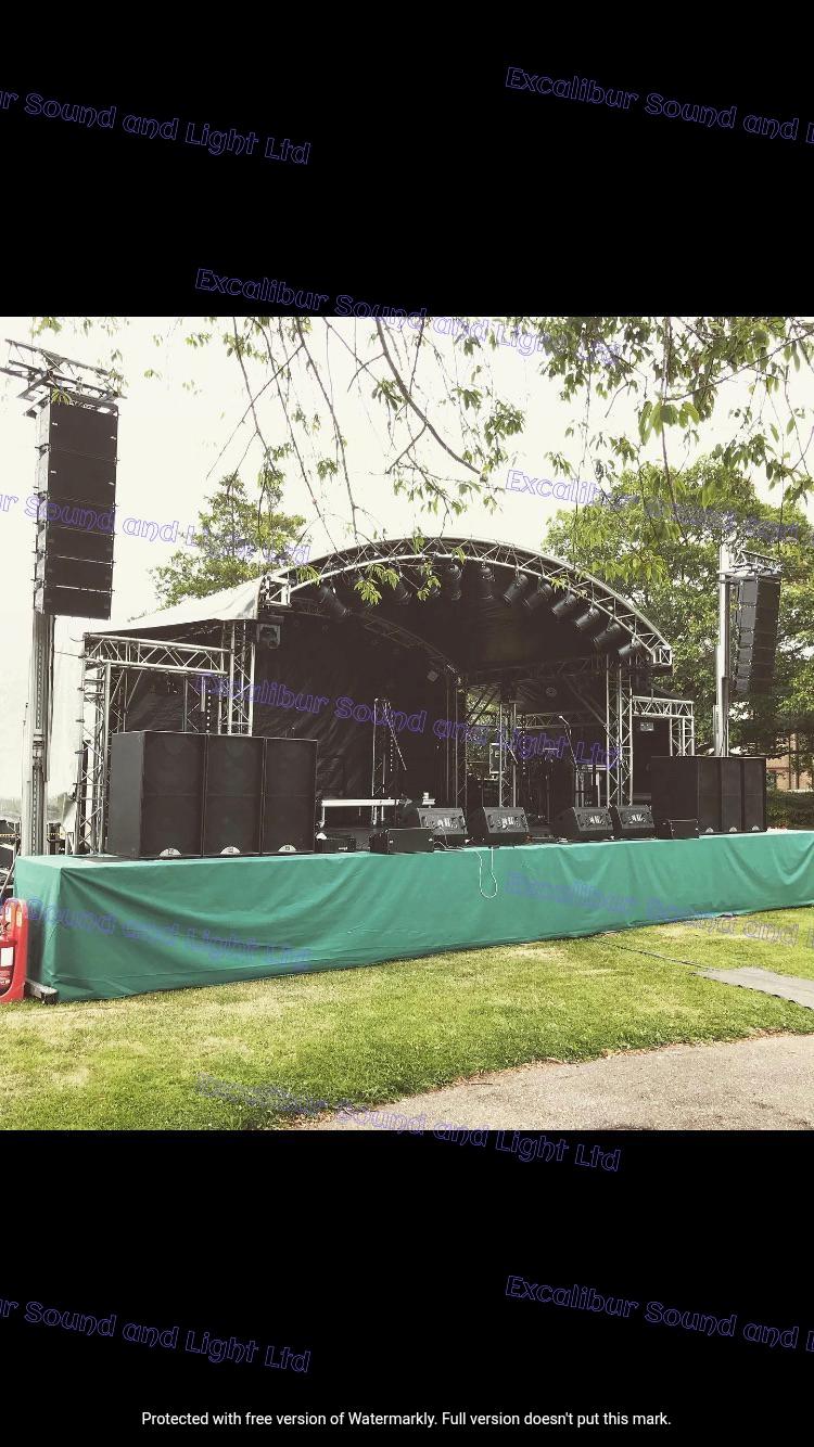 Music in the Park, Halstead, Essex 2019