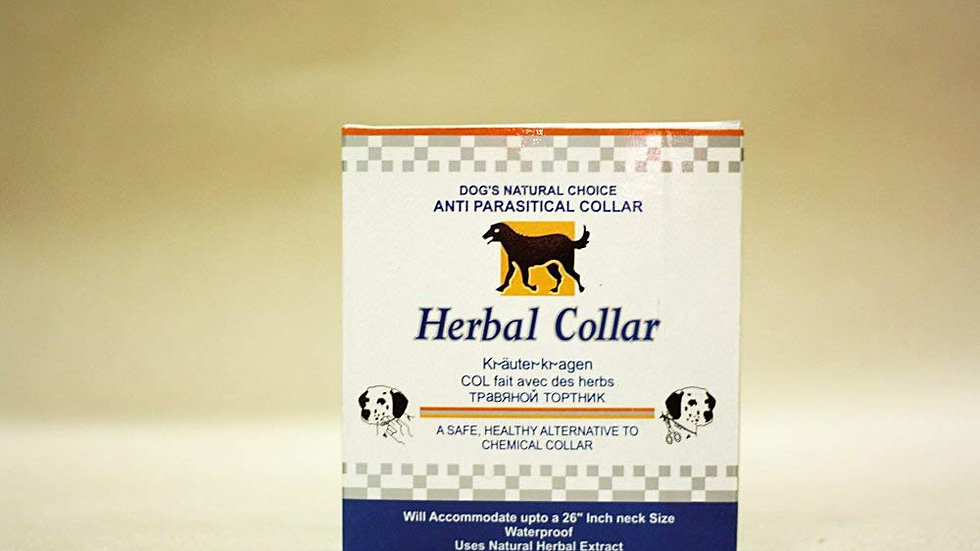 ROBUST ANTIPARASTICAL HERBAL COLLAR FOR DOGS