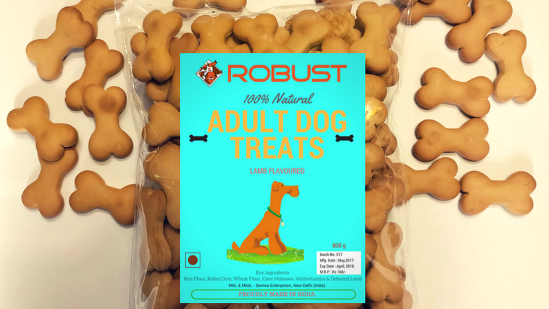 Robust Adult Dog Treats : 1 Kg