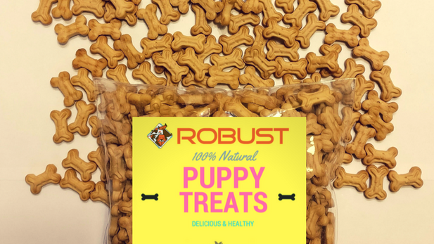 Robust Puppy Treats : 1 Kg