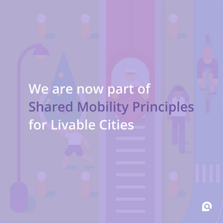 What does it mean? 🤗  The Shared Mobility Principles for Livable Cities are a framework for policymakers, leaders, influencers, urban designers, academics and advocates to guide stakeholders toward the best outcomes for all people.  Developed by Robin Chase and a founding coalition of global NGOs, these Principles are a roadmap for rethinking both planning and transportation systems, as well as the cities, and built environments that value inclusivity, connectivity and shared mobility that is sustainable and just.  By endorsing the Principles, Ubirider joins a coalition of governments and advisors, private mobility service providers, public agencies and non-governmental organizations aligned by a common vision: to create sustainable, inclusive, prosperous and resilient cities.  Through our alliance with Shared Mobility Principles for Livable Cities, we reinforce our commitment to these specific principles:  Keep on working towards integration and seamless connectivity; Prioritize people over vehicles; Engage with all stakeholders; Promote equity; Lead the transition towards a zero-emission future and renewable energy; Aim for the public benefits of open data; Support fair user fees across all modes.  Together, we want to make transportation safe, efficient and integrated, for all!