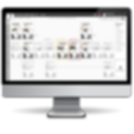 Auk Industries sampe dashboard display