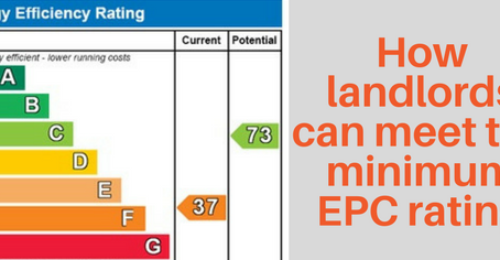 Are you letting a property with an EPC rating below E?