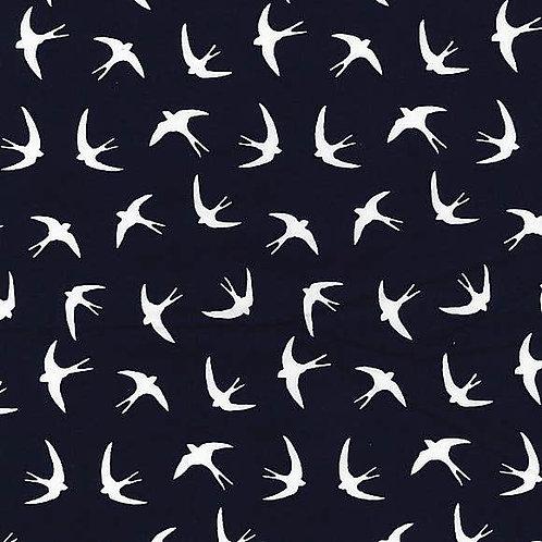 Blue swallows