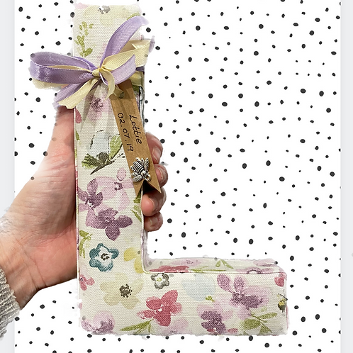 Pastel floral and bee