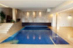 Large mansion, basement swimming pool