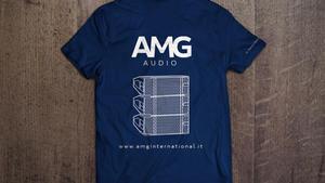 Maglietta staff AMG audio