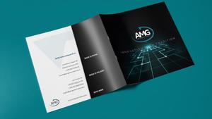 Fronte e retro brochure