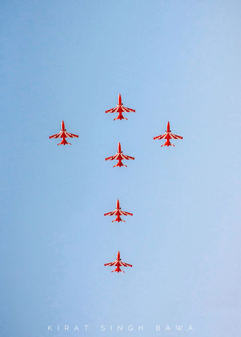 Suryakiran Aerobatics Team, Indian Air Force