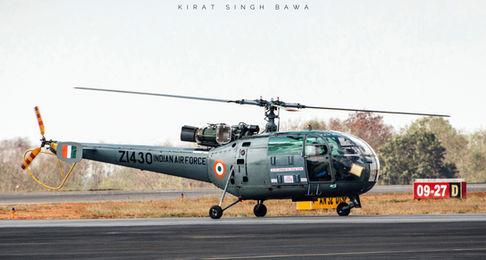 HAL Chetak, Indian Air Force