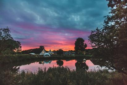 RozyGlow Sunset at Rye Island