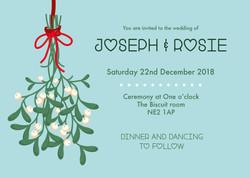 Mistletoe Invitation