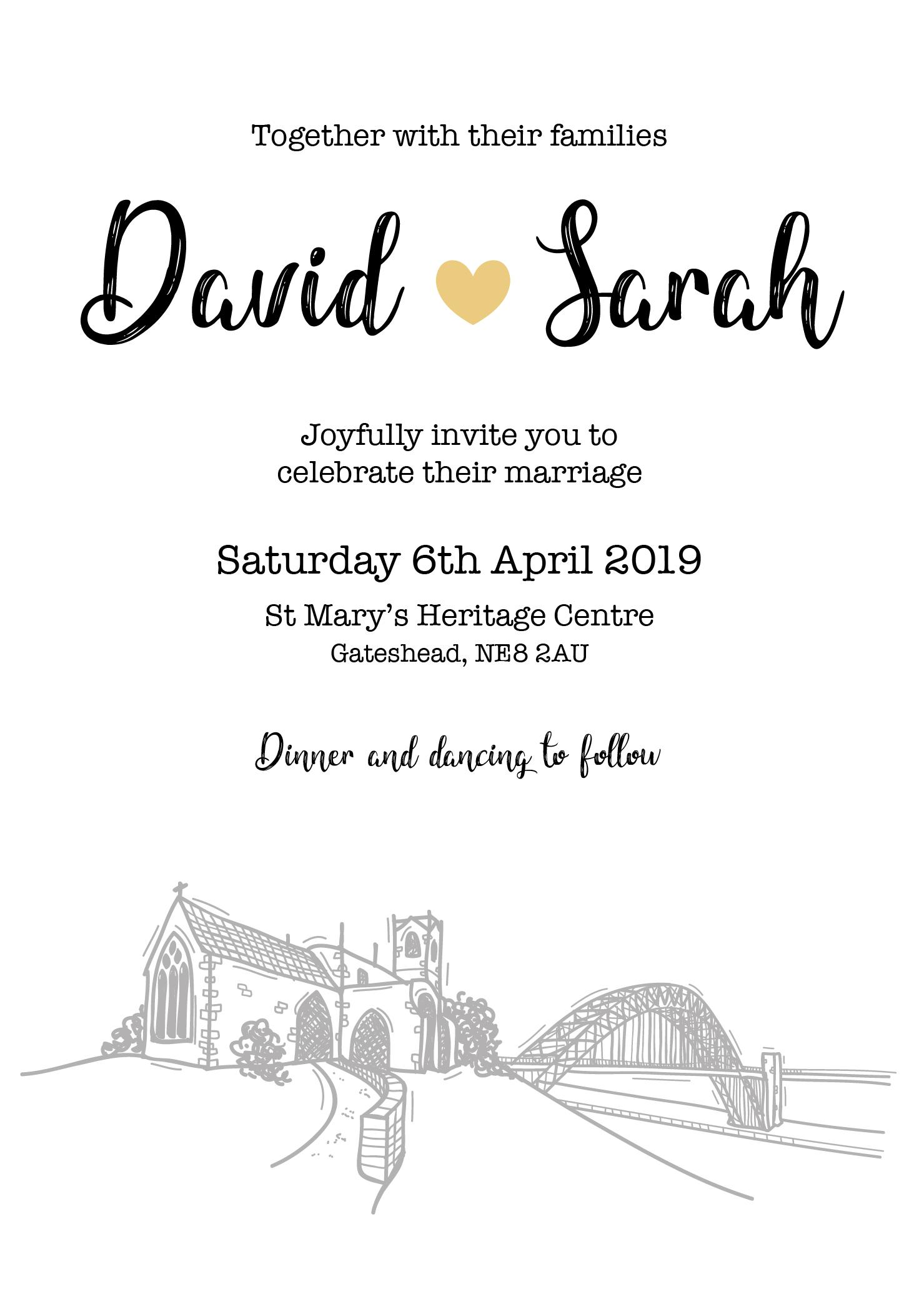 Tyne Invitation