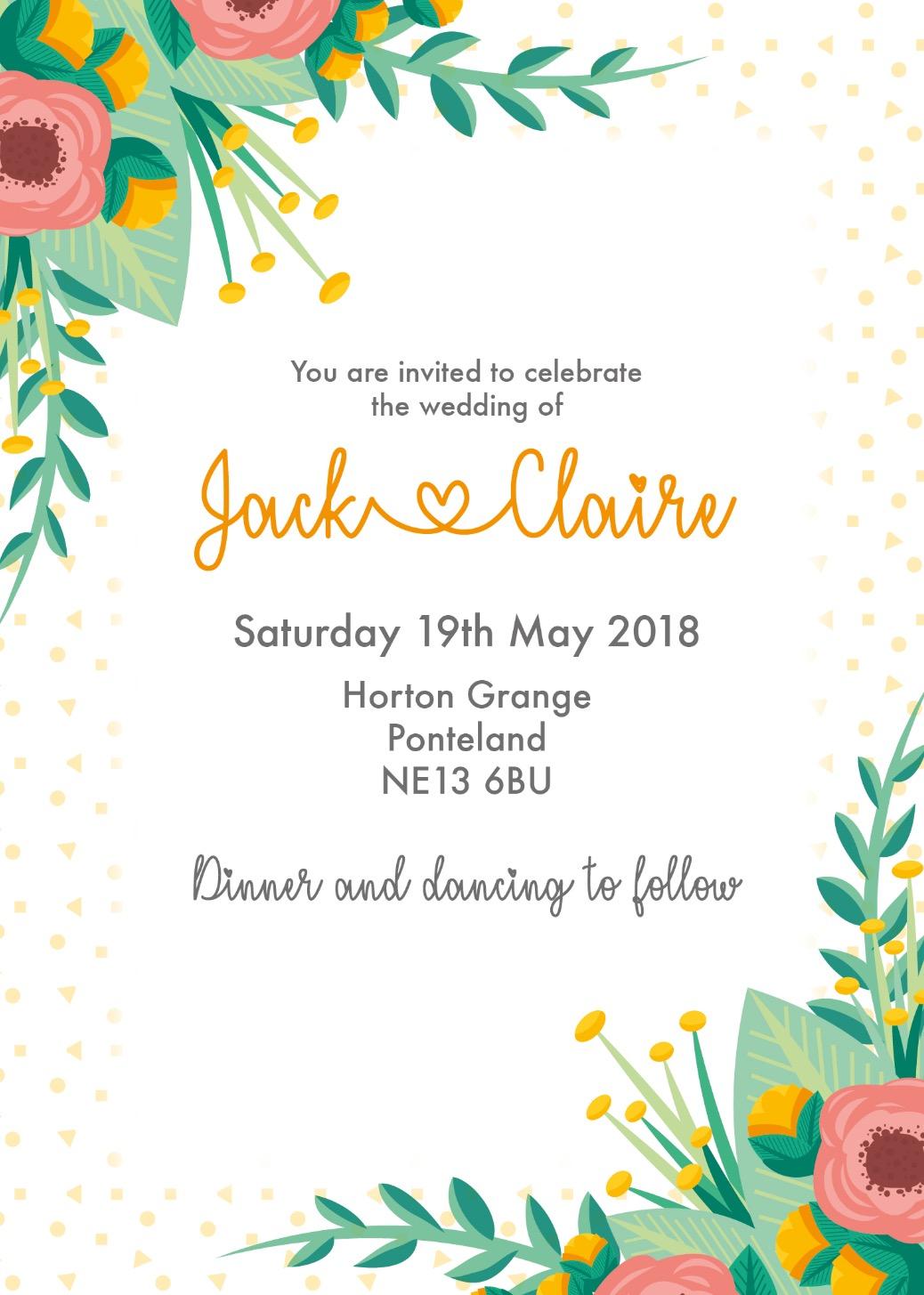 Colour Invitation