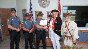 Arkansas State Trooper James Ray Awarded Medal