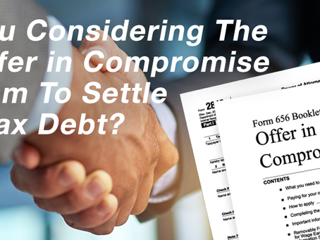 Can I file my own Offer in Compromise with the IRS?