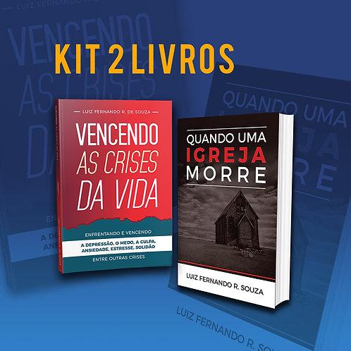 Kit 2 Livros + Frete grátis