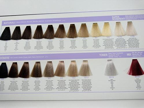 Безаммиачный краситель для волос DCM Ammonia Free 100мл Натуральные и пепельные