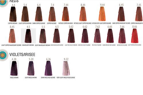 SUPREMA COLOR Стойкая крем-краска 60 мл Красные и фиолетовые оттенки