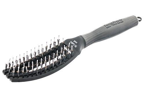 Щетка для укладки Fingerbrush Combo натуральная и нейлоновая щетина